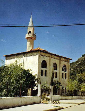 Islam in Albania - Mosque in Delvine