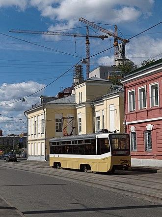 Улица Дурова между улицами Гиляровского и Щепкина.