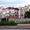 Moscow, Kostyansky 6C2 June back demolition 2009 04.JPG