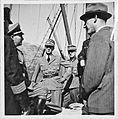 Mosjøen, ein Hamburger. Kapitän berichtet dem RK (Reichskommissar) (7129703957).jpg