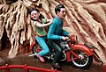 Motorbike youngsters, (Virtues and Vices display) Haw Par Villa (14791559364).jpg