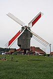 Moulin de la Marquise - working windmill, front view.jpg