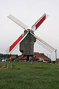 Moulin de la Marquise - working windmill, front view.jpg