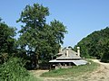 Mount Athos- lone house besides a way 1.jpg