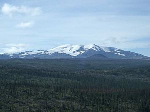Geology of the Pacific Northwest - Mount Edziza, a large shield volcano in northwestern British Columbia