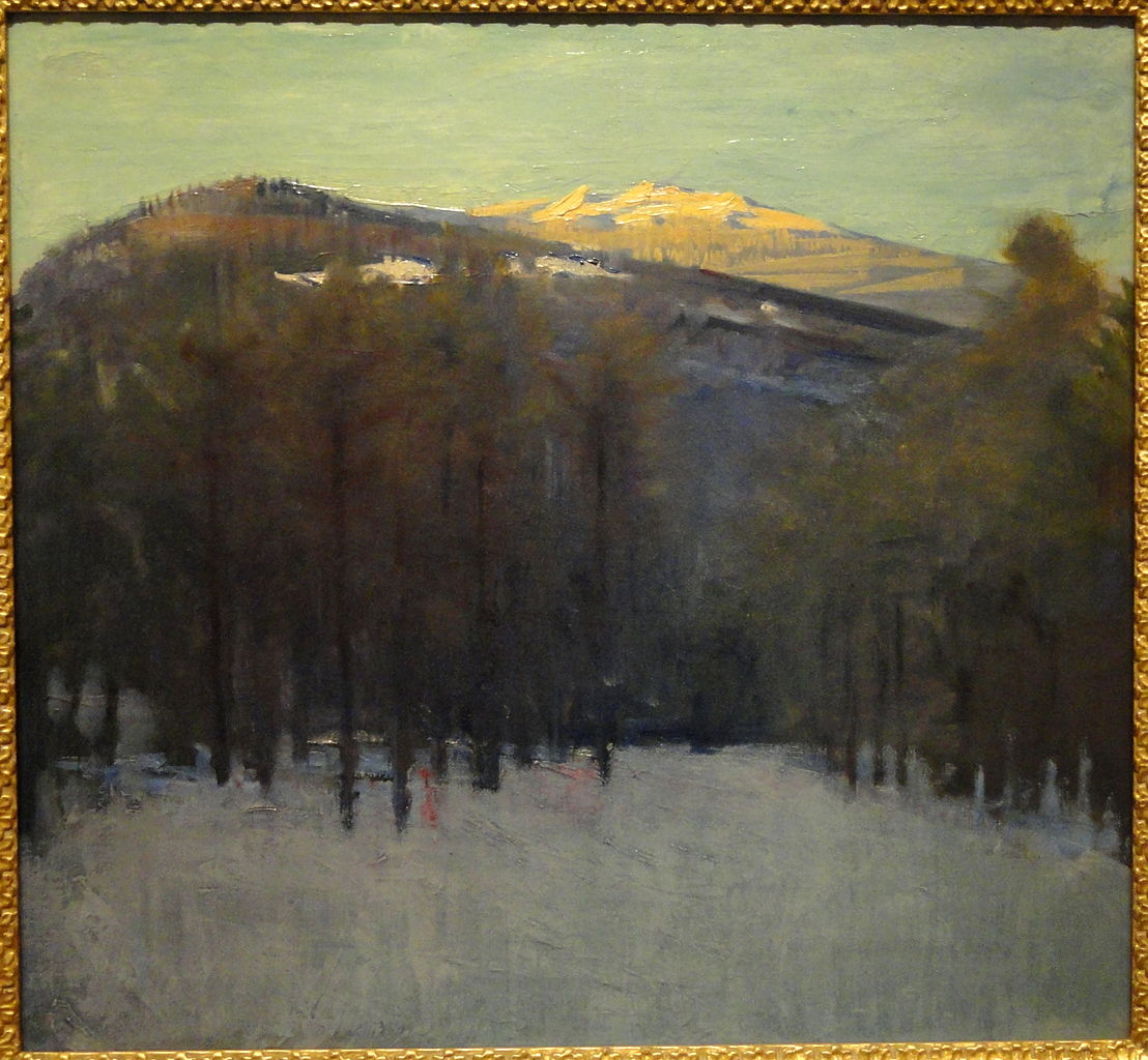 File:Mount Monadnock by Abbott Handerson Thayer, c. 1911 ...