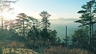 Bessang Pass Natural Monument - Image: Mount Namindaraan