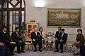 Mr.Shigenobu NAGAMORI ประธานเจ้าหน้าที่บริหารและผู้ก่อ - Flickr - Abhisit Vejjajiva (1).jpg