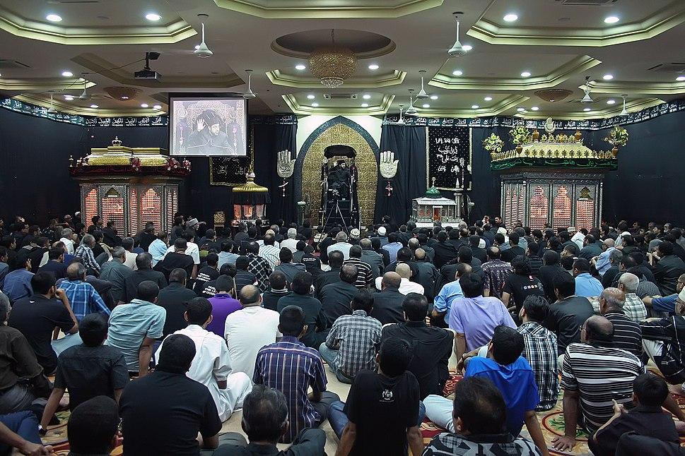Muharram mourning, Hussainia TZ