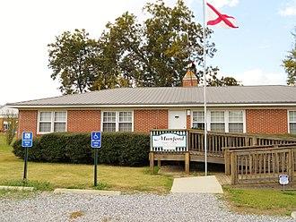 Munford, Alabama - Munford Town Hall