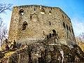 Muraille sud-est du château de Spesbourg.jpg
