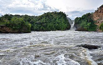 Murchison Falls - Image: Murchison Falls, Nile River, Uganda (15504926800)