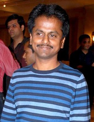 AR Murugadoss - Murugadoss at a special screening of Ghajini in 2008