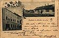 Nádraží Litovel-Předměstí-hotel Bílý koníček-1899.jpg