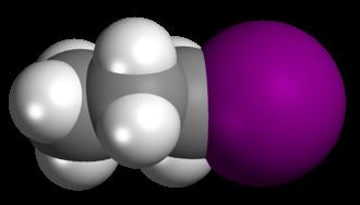 N-Propyl iodide - Image: N propyl Iodide
