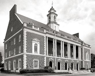 Province of North Carolina - New Bern courthouse