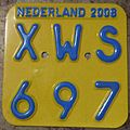 NETHERLANDS 2008 -SCOOTER PLATE - Flickr - woody1778a.jpg