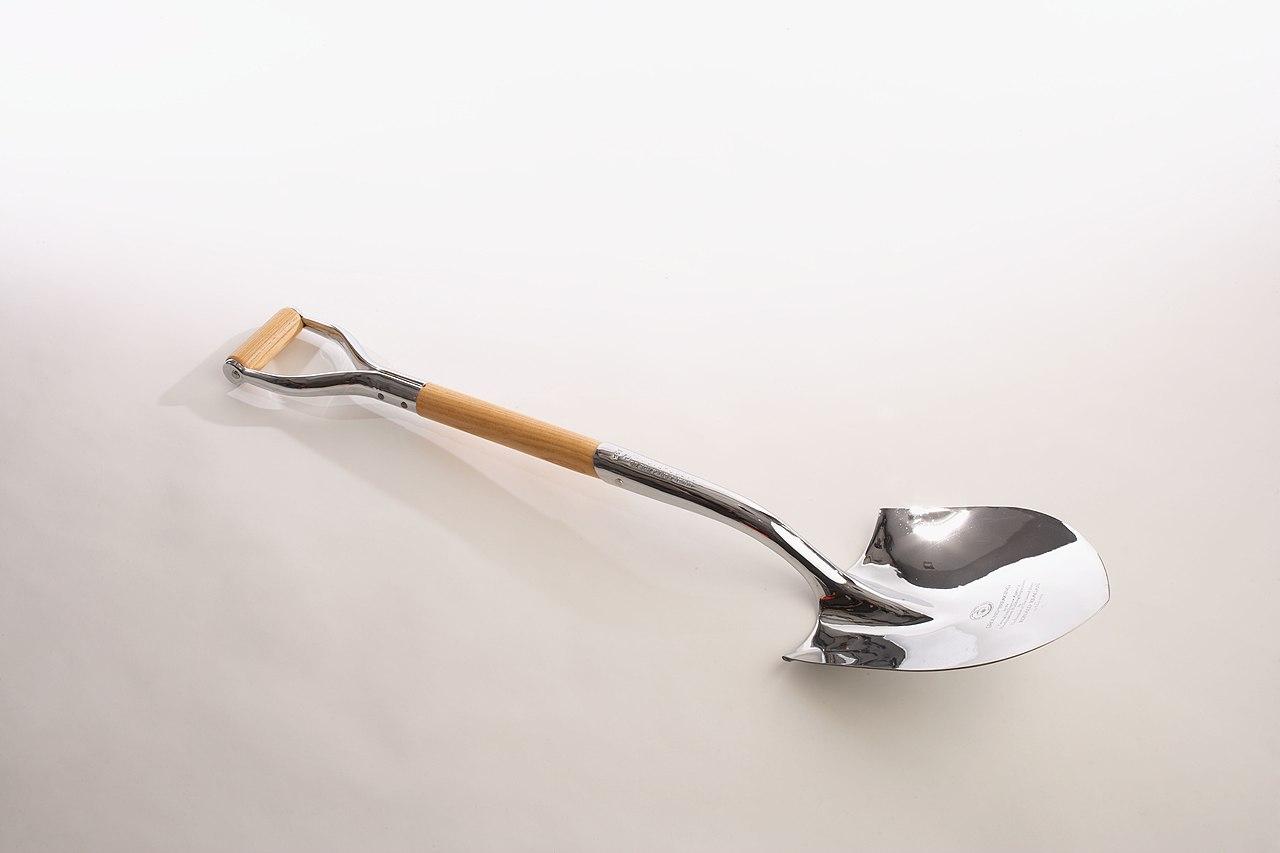 File:NHB Groundbreaking Shovel - Flickr - The Central