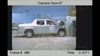 Crash test form of destructive testing performed in order to ensure safe design standards for various modes of transportation