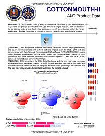 NSA COTTONMOUTH-II