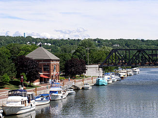 Waterford Harbor an der Mündung des Mohawk River
