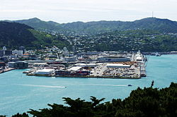 Wellington - Panorama del porto