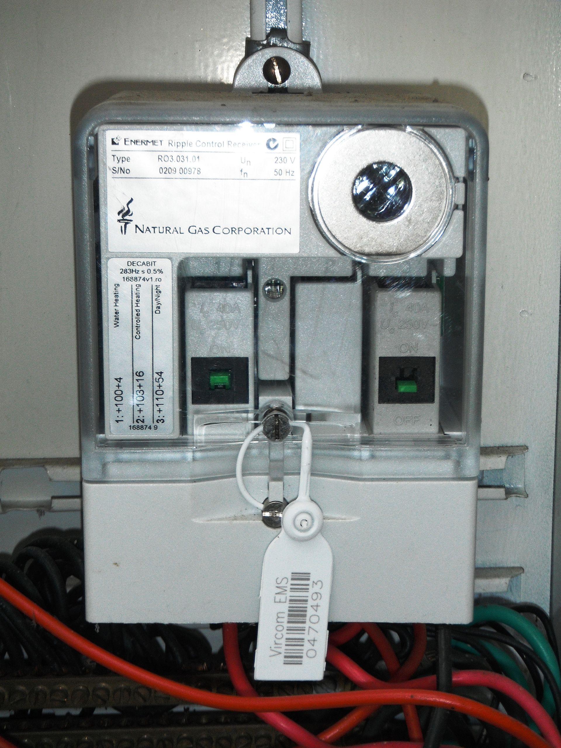 Electricity Meter Off Peak Household Circuits Ausgrid