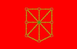 Flag of Navarre - Image: Nafarroako bandera, kororik gabea