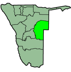 Omaheke Region - Image: Namibia Regions Omaheke 250px