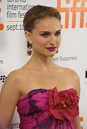 Natalie Portman at the premiere gala for Love ...