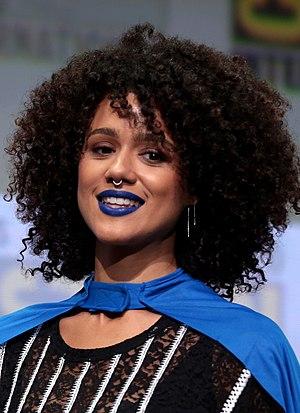 Nathalie Emmanuel - Emmanuel at the 2017 San Diego Comic-Con International