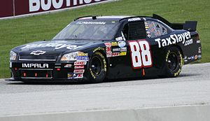 Aric Almirola - Almirola's No. 88 Nationwide car in 2011