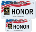 Nebraska United States Army license plate.png