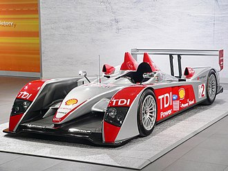 Sports prototype - The Audi R10 is one of the most successful Le Mans Prototypes in recent years, winning 36 out of 48 races, and 4 Constructors' Championships.