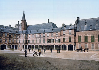 Capital of the Netherlands - The Hague has been the seat of government of the Netherlands since 1588. The Binnenhof houses the States General of the Netherlands.