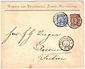 Netherlands 1896-02-07 cover Rotterdam-Rosswein.jpg