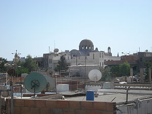 Al-Malikiyah - Image: New Church dome