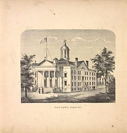 New York State Capitol 1866