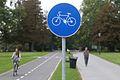 New bike path in Tivoli Park - Ljubljana (15617213732).jpg