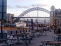 Newcastle East Quayside on a summer evening (geograph 1785676).jpg