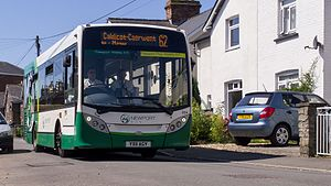 Newport Bus - Alexander Dennis Enviro200 in Sudbrook in July 2014
