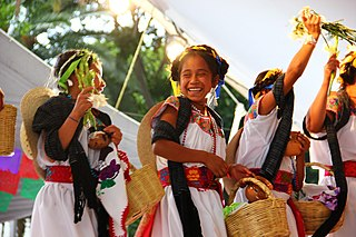 Nahuas group of indigenous people from Mexico and El Salvador