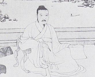 Ni Zan - Portrait of Ni Zan