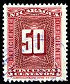 Nicaragua 1900 Due Scj48 used.jpg