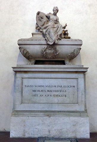 Надгробие Никколо Макиавелли