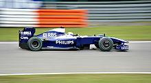 Rosberg al volante della Williams nel Gran Premio di Germania 2009