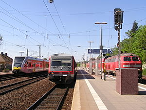 Friedberg–Hanau railway
