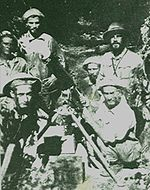 Paraguayan soldiers during the Chaco War.