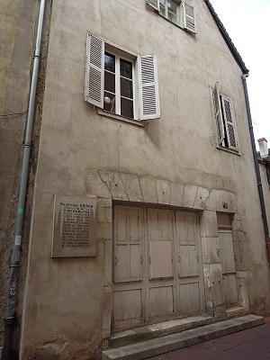 Nicéphore Niépce - Niepces birthplace at Chalon s.S.