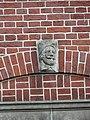 Nijmegen - Hoofd gemaakt door Egidius Everaerts op de gevel van Huis Heyendaal 04.jpg